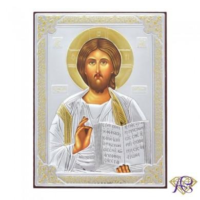 Ikona srebrna Jezus Pantokrator 31181ORO