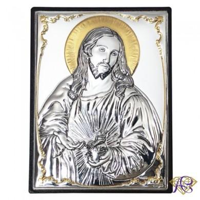 Obrazek srebrny Serce Jezusa 309812 ORO