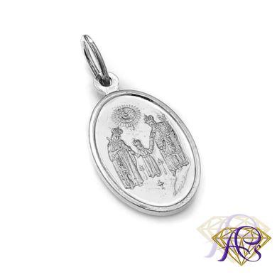 Srebrny Medalik Matki Boskiej Częstochowskiej 1534